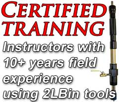 Certified Training For All Our Equipment