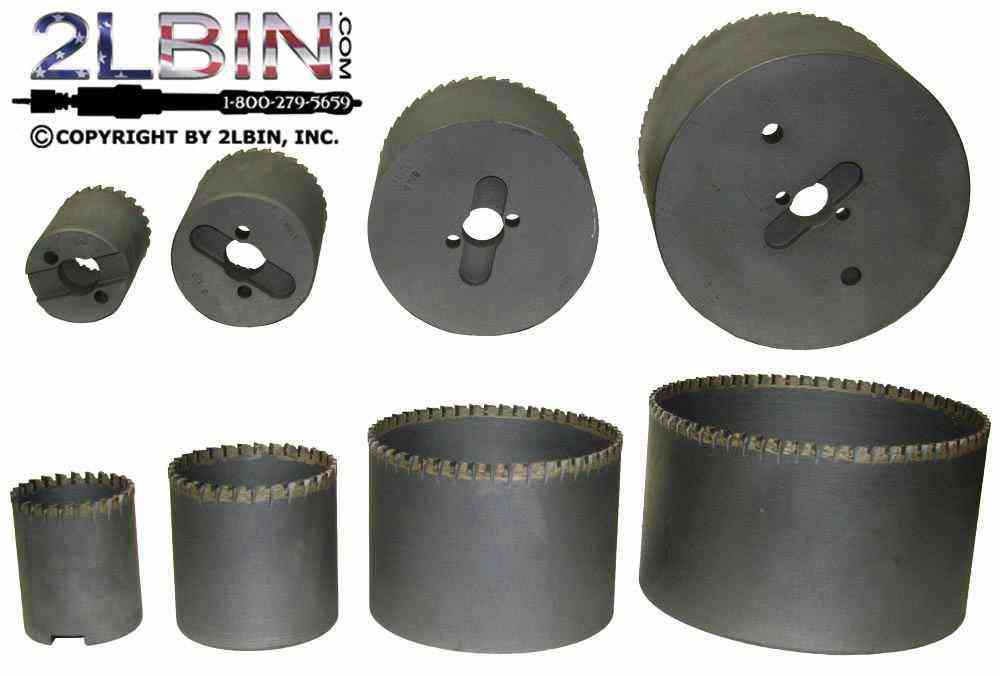 Heavy Duty STHS Carbide Tipped Hole Saw Cutters