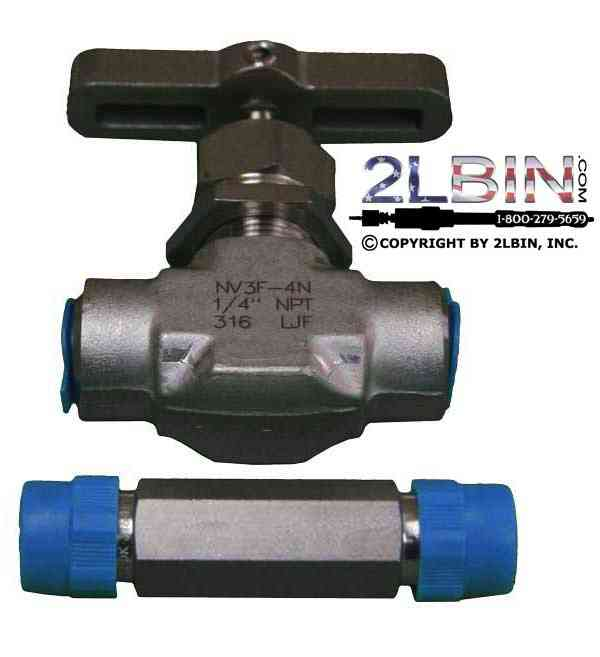 High Pressure Quater Inch Valve NPTF