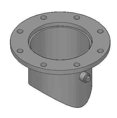 416 Type 3 Flanged Nozzle