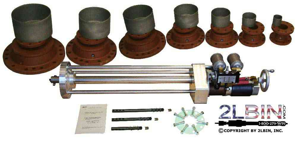 T-30 Pipeline Air Drive Hot Tapping Machine Turn-key Complete Package