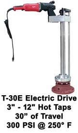 T-30E Electric Tap Machine