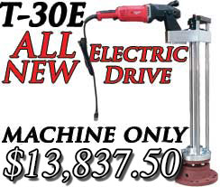 T-30E Electric Drive Hot Tap New Machine Style