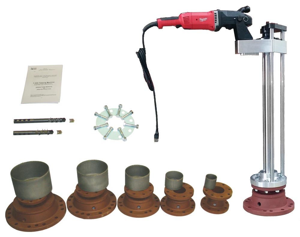 T-30 Pipeline Hot Tapping Machine Turn-key Complete Package