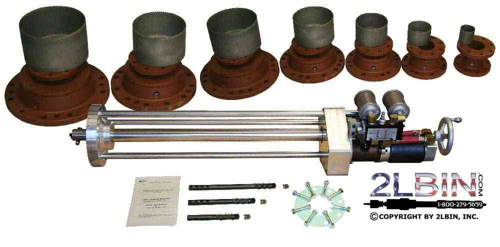 T-37 Pipeline AirDrive Hot Tapping Machine Turn-key Complete Package