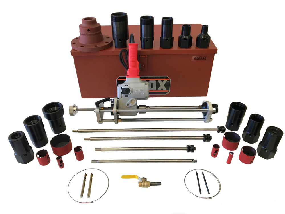 T1-4 Hot Tapping Machine Ultimate Package