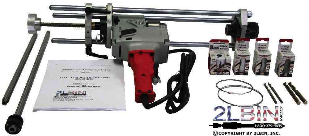 T1M Mueller Adaptable Hot Tapping Machine Complete Turn-Key Package
