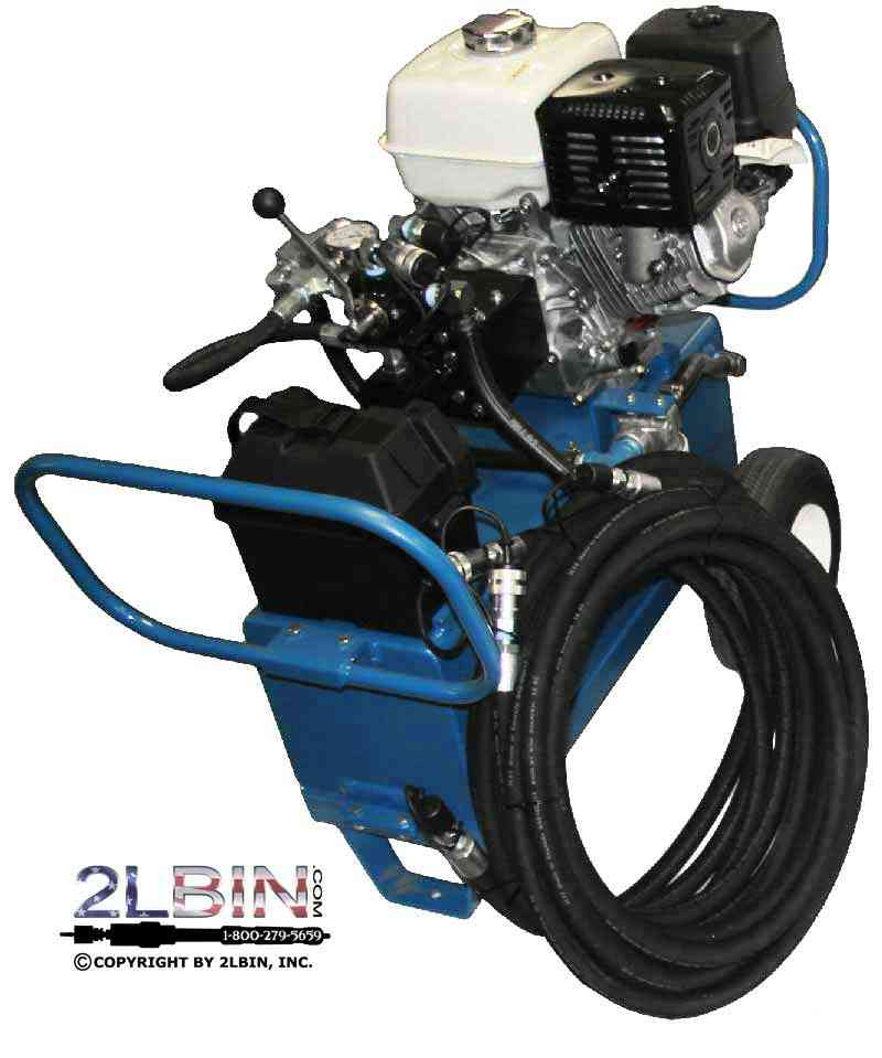 13 Horse Power Hydraulic Power Pack Unit