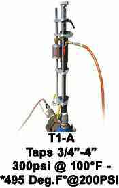T1-A Hottap Machine